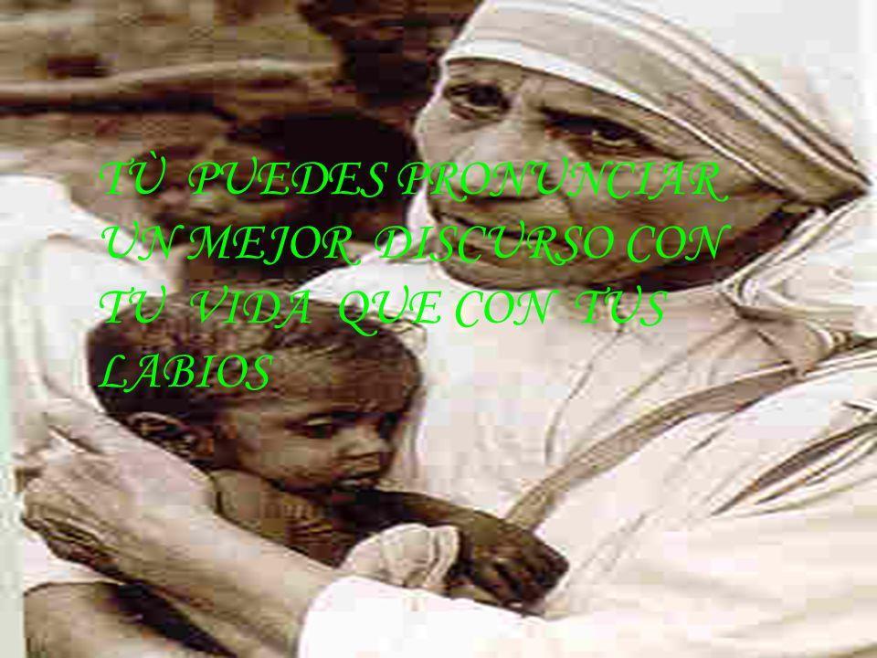 M.T.CARDEMIL J- 2010 TÙ PUEDES PRONUNCIAR UN MEJOR DISCURSO CON TU VIDA QUE CON TUS LABIOS