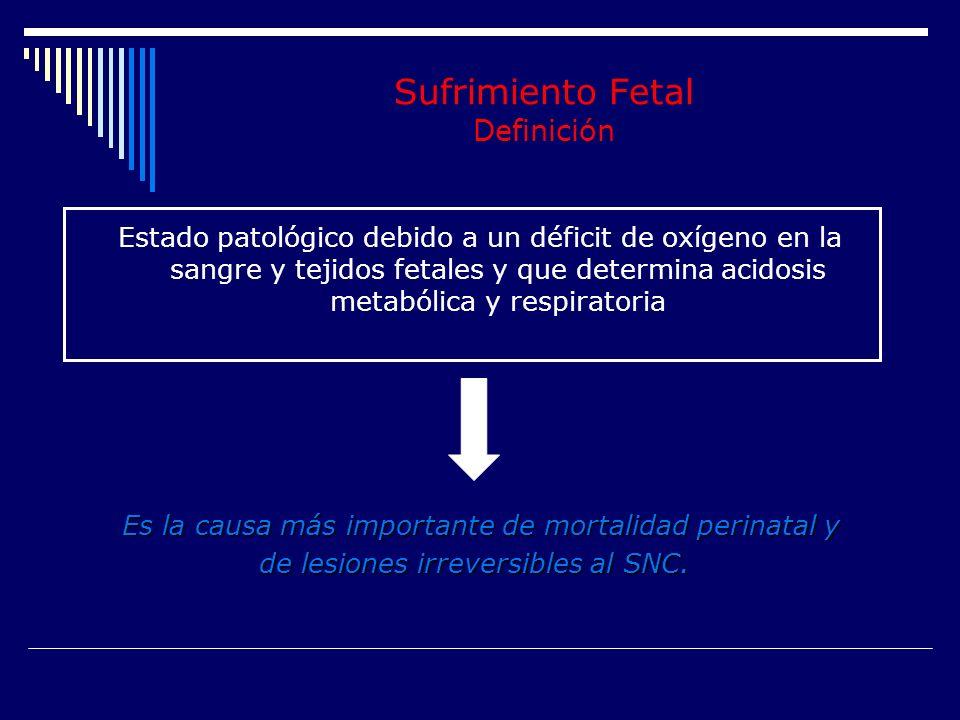 Muerte Fetal Muerte Neonatal Morbilidad Neonatal Severa Lesiones Neurológicas