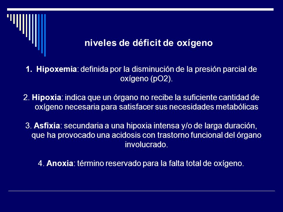 Diagnóstico bioquímico de Sufrimiento Fetal Hipoxia: pO2 <18 mmHg Hipercapnia : pCO2 >50 mmHg pH : < 7.20