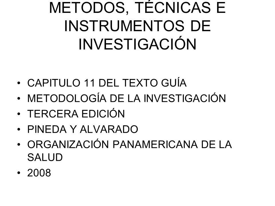 PERO EN CUALQUIERA DE LAS TÉCNICAS SE REQUIERE DE ALGO DONDE REGISTRAR LA INFORMACIÓN RECOLECTADA