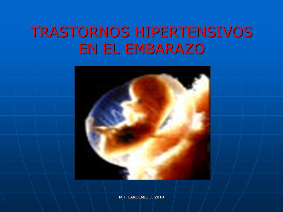 M.T.CARDEMIL J.2010 Síndrome Hellp ( Weinstein, 1982 ) H…............