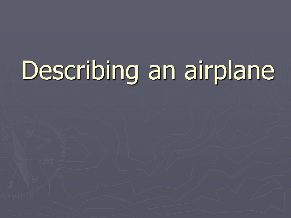 el avión de reacción / el jet la avioneta