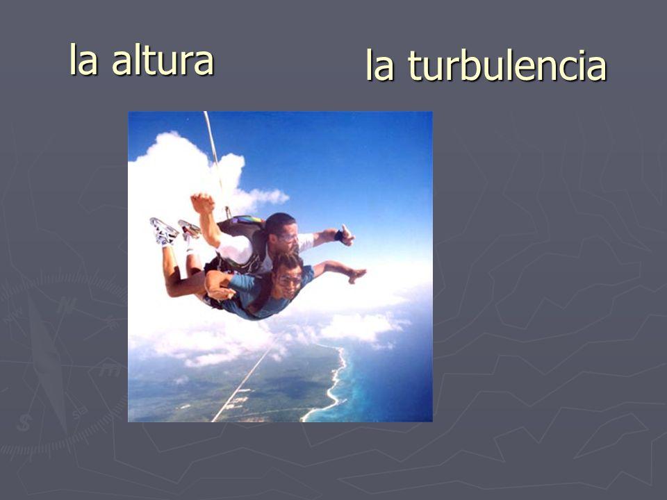 la altura la turbulencia
