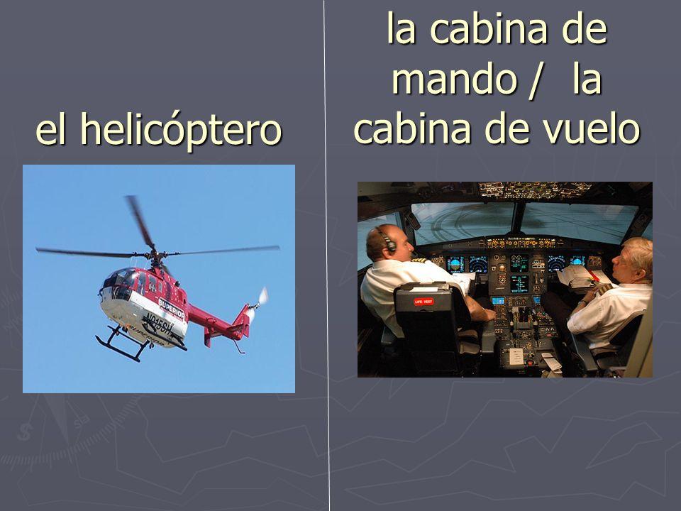 el/la asistente de vuelo la tripulación
