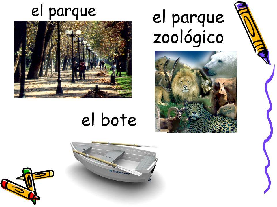 el parque el bote el parque zoológico