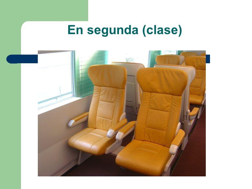 En segunda (clase)