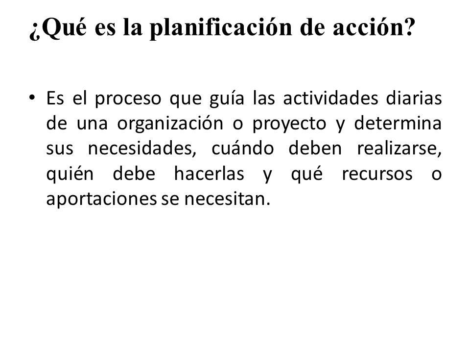 Corresponde al proceso de poner en práctica los objetivos estratégicos; por eso, también se llama planificación funcional.