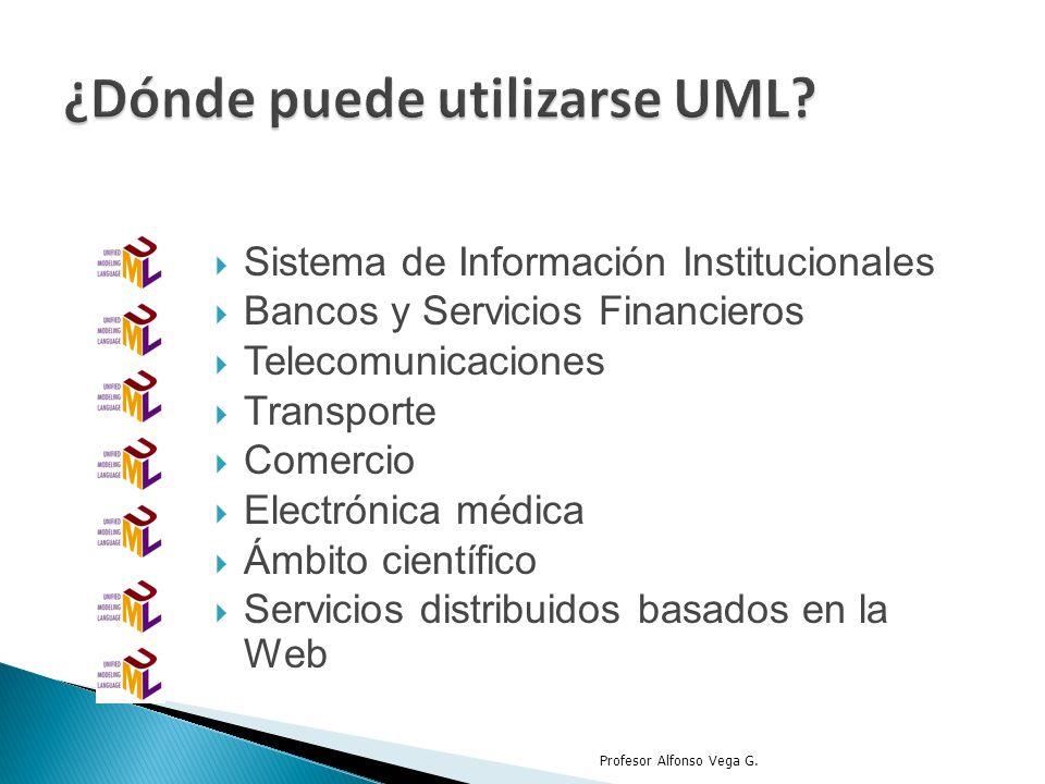 Sistema de Información Institucionales Bancos y Servicios Financieros Telecomunicaciones Transporte Comercio Electrónica médica Ámbito científico Serv