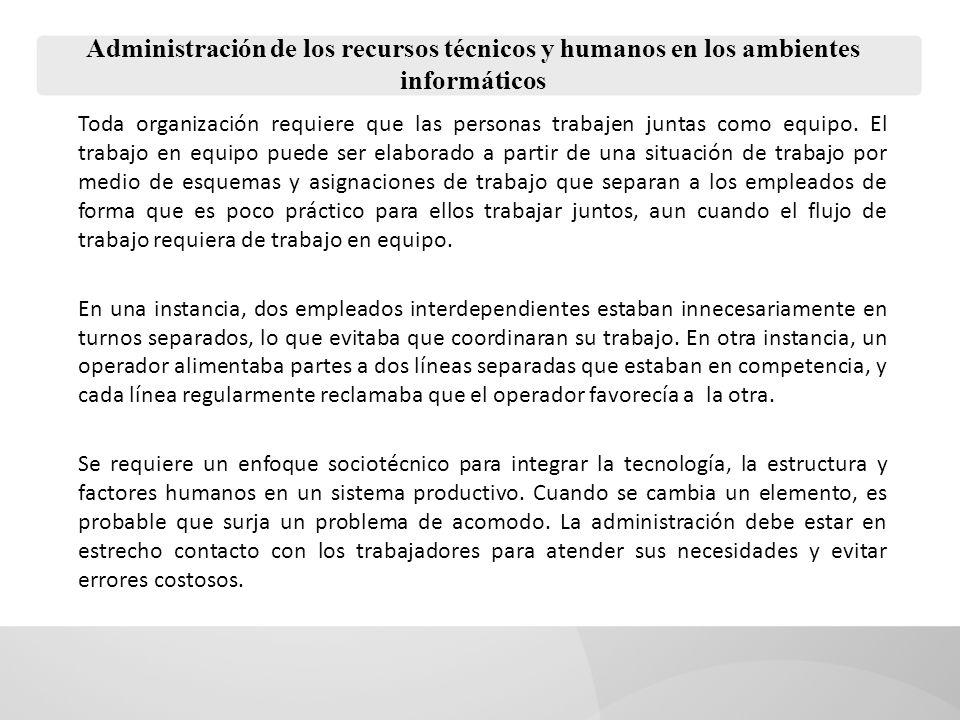 Administración de los recursos técnicos y humanos en los ambientes informáticos Permisos de excedencias.