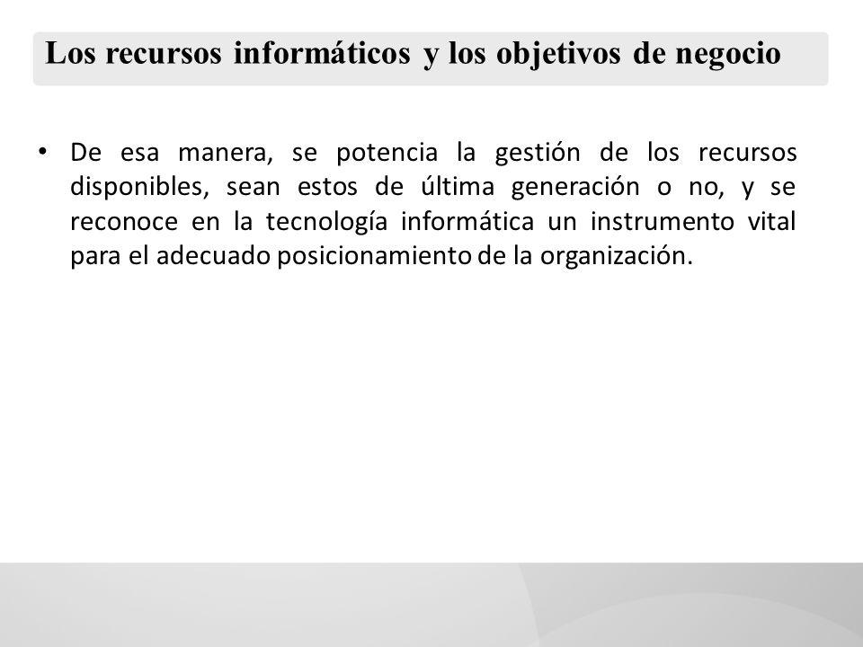 La información: recurso estratégico de la empresa moderna Hoy en día no se discute la relevancia de la información en las decisiones de negocio de las empresas de distinto rubro y tamaño.