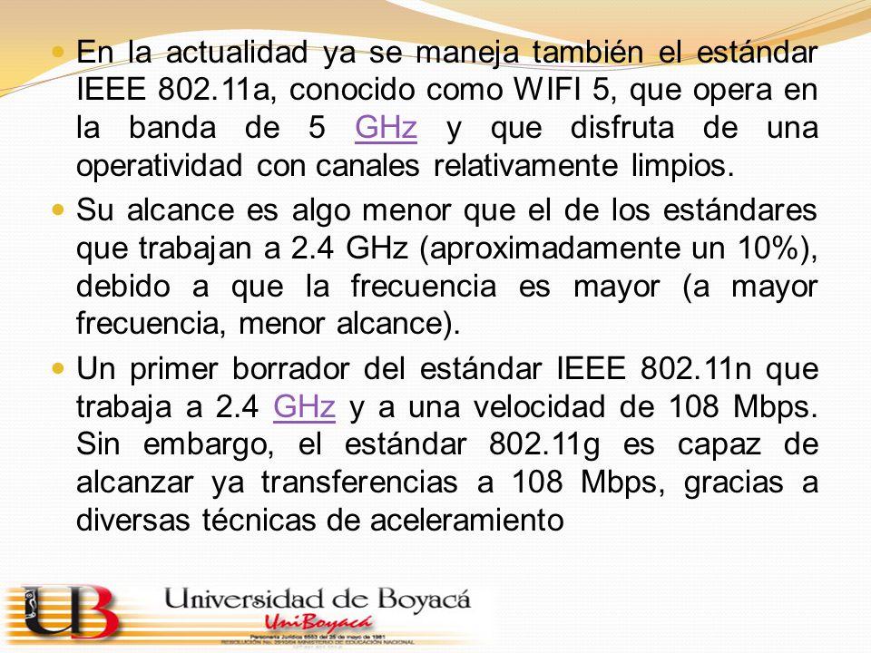 Existen otras tecnologías inalámbricas como Bluetooth que también funcionan a una frecuencia de 2.4 GHz, por lo que puede presentar interferencias con Wi-Fi.