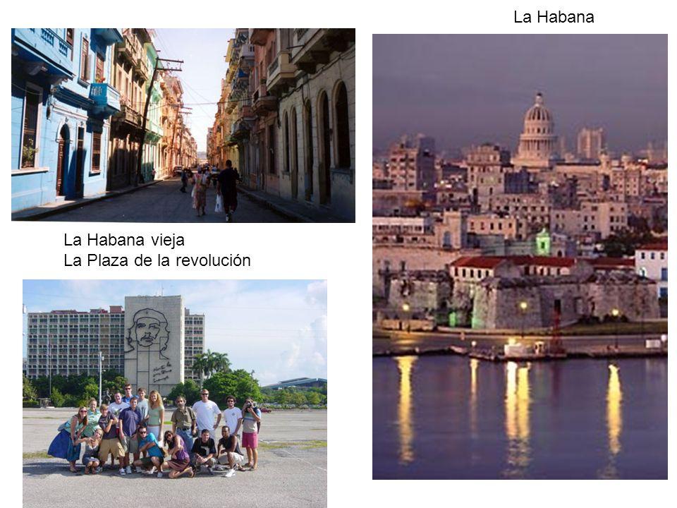 La Habana vieja La Plaza de la revolución La Habana