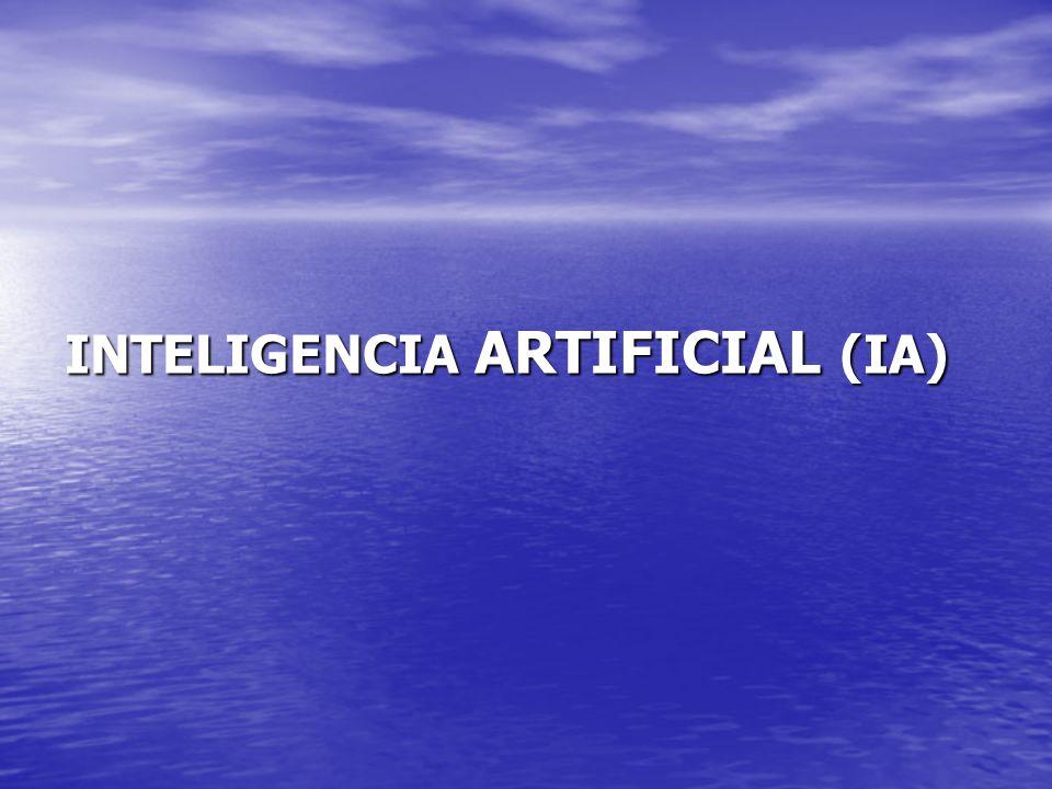 Una buena definición de IA es algo elusiva y controversial, fundamentalmente porque la inteligencia humana no está completamente entendida.