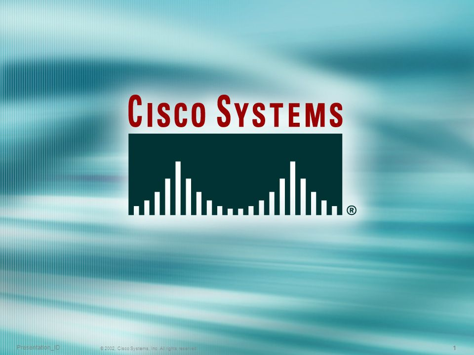 12 © 2004, Cisco Systems, Inc.All rights reserved.