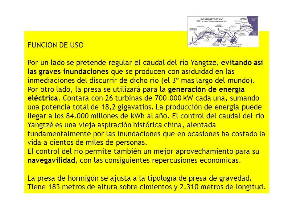 FASES DE CONSTRUCCION Su construcción se ha dividido en 3 fases: - 1ª Fase (1993-1997): Durante esta fase se construyó un canal provisional para desviar la navegación fluvial al tiempo que se comenzaba a construir la primera barrera de contención de aguas.