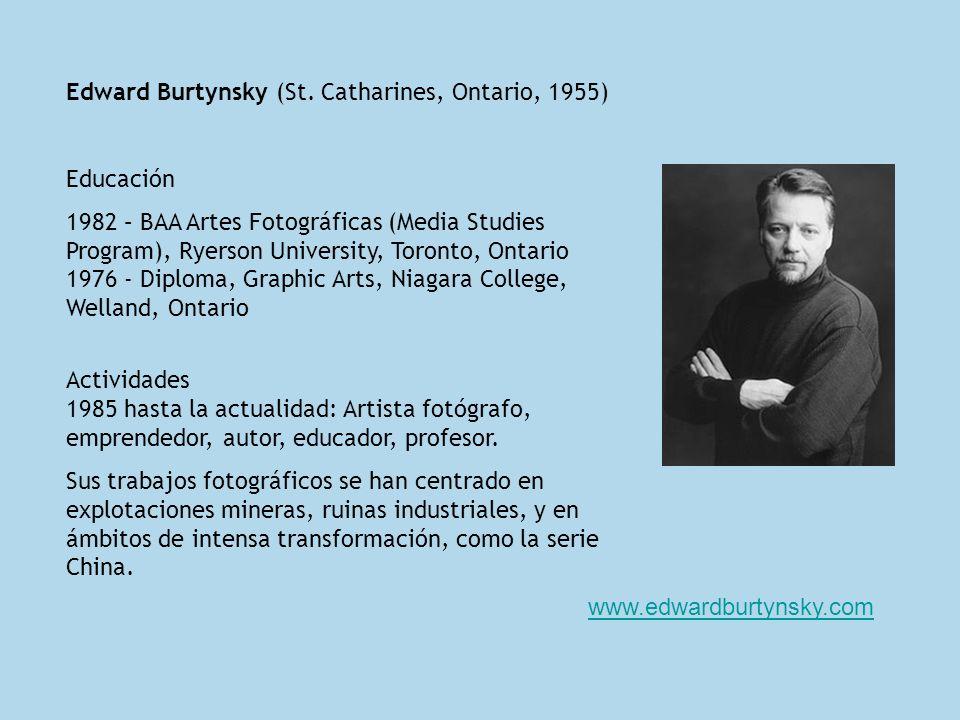 Edward Burtynsky (St.