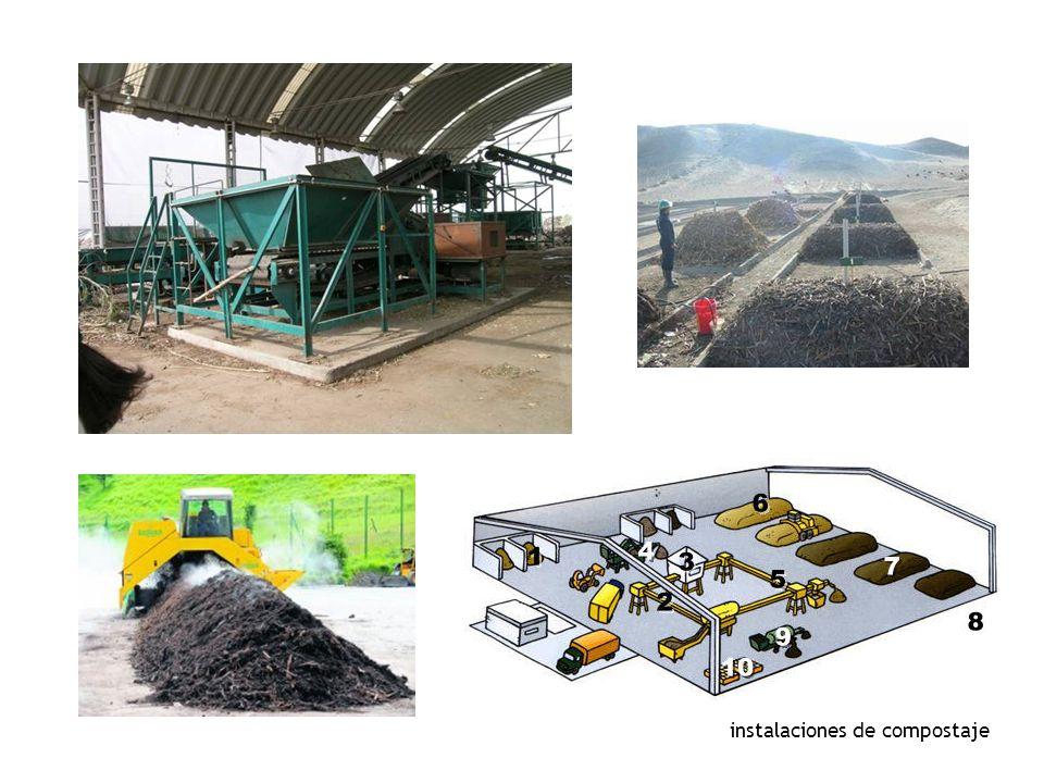 instalaciones de compostaje