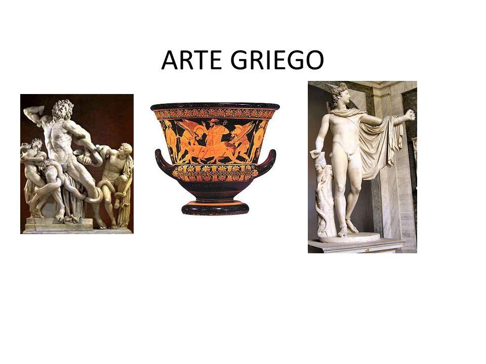 CARACTERISTICAS DEL ARTE GRIEGO Es un arte que está de acuerdo con la realidad, es realista.