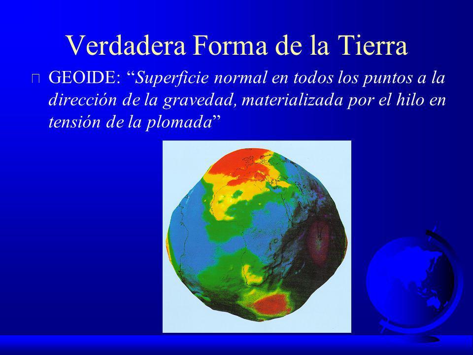 Subdivisiones de la Geodesia F Geodesia Geométrica o Matemática Comienza con Eratóstenes (200 a.c.). F Geodesia Física Comienza con las Teorías de New