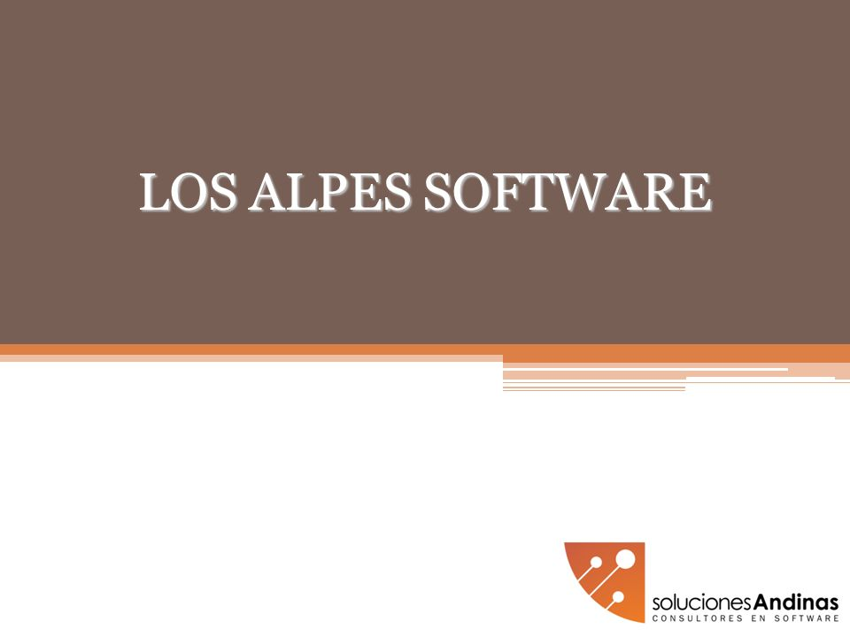 LOS ALPES SOFTWARE
