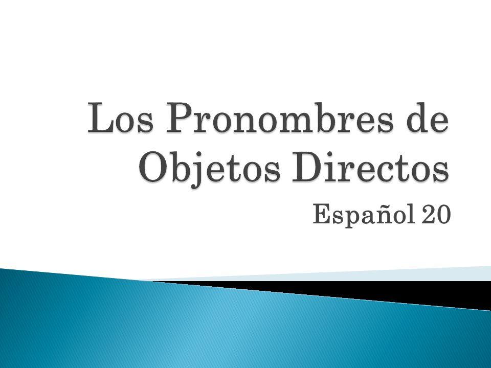 Español 20