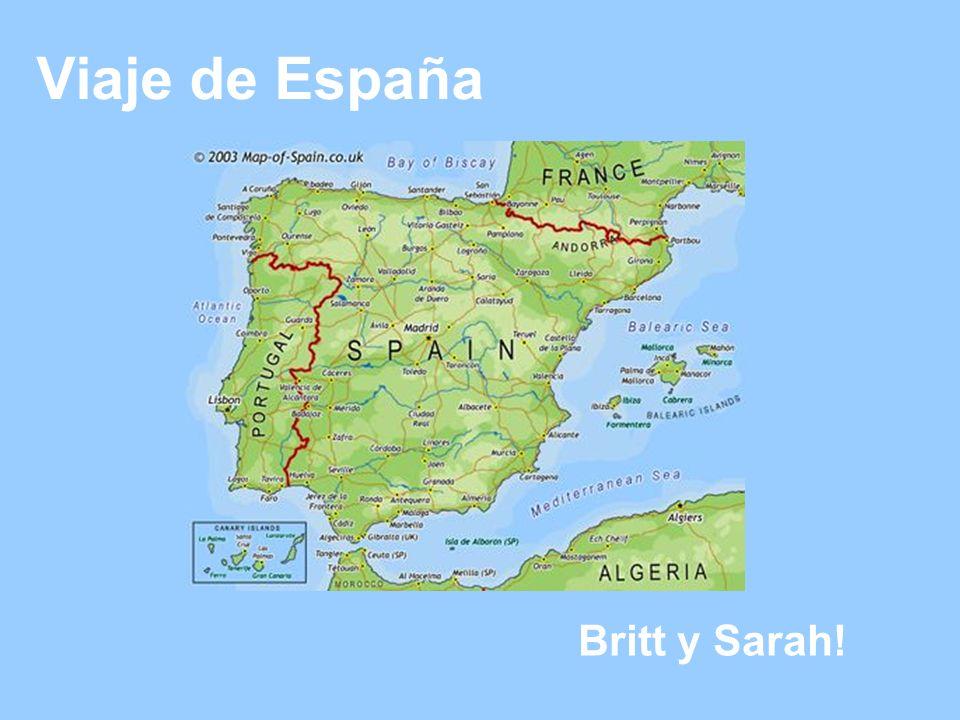 Viaje de España Britt y Sarah!