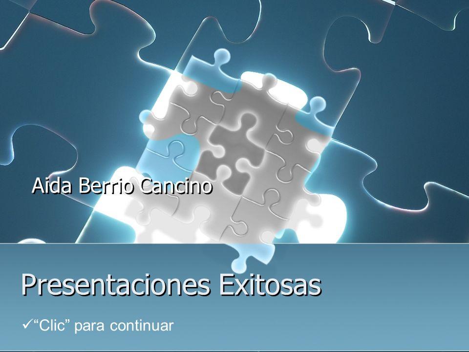 Presentaciones Exitosas Aida Berrio Cancino Clic para continuar