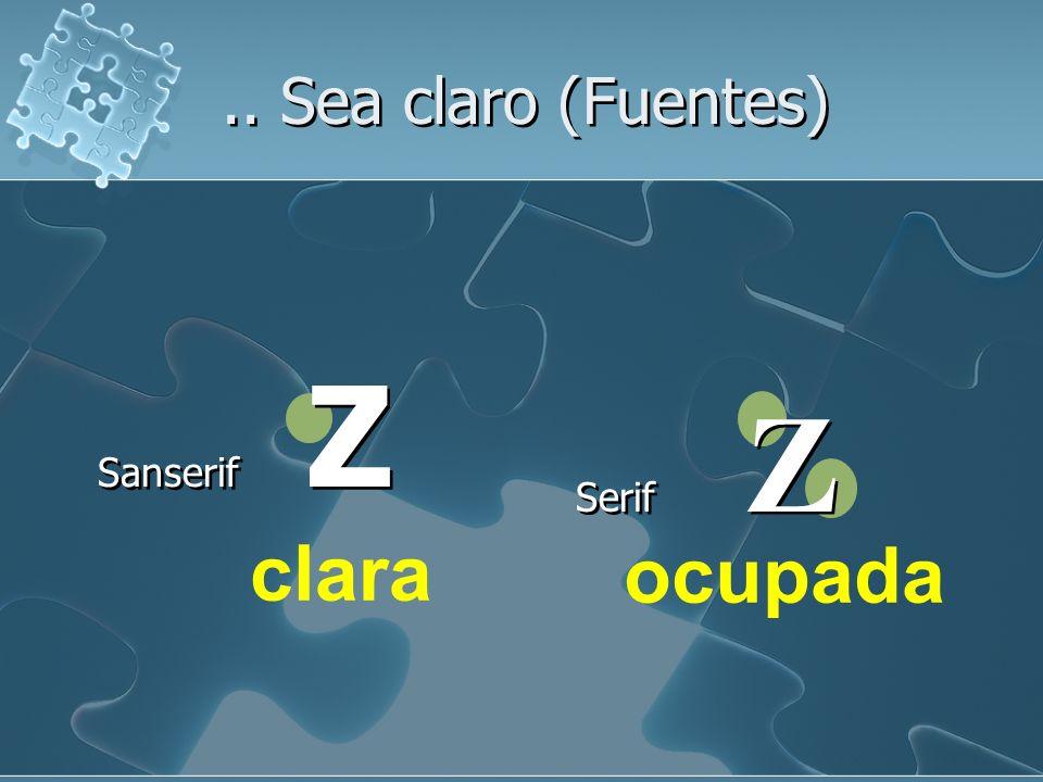 Sanserif Z Serif Z.. Sea claro (Fuentes) ocupada clara