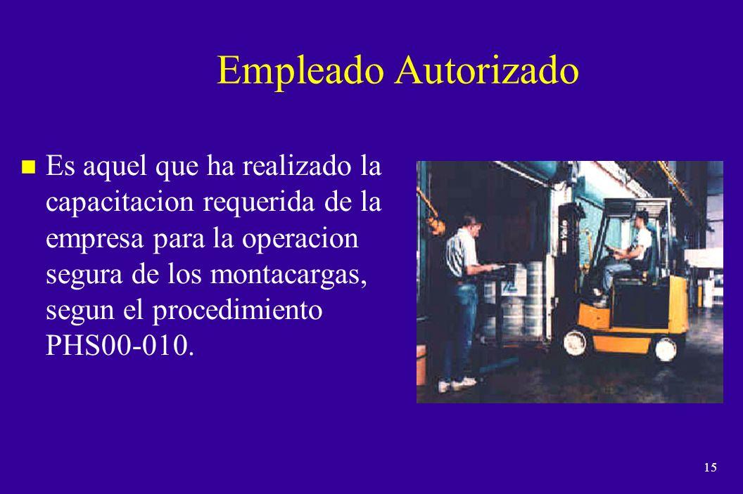 14 Evaluación y Reentrenamiento n El reentrenamiento, deberá de realizarse conforme a lo establecido en el procedimiento PHS00-010 vigente.