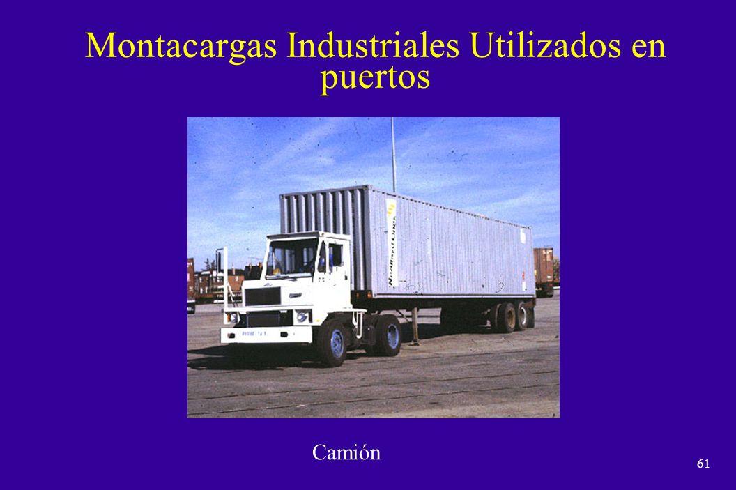 60 Montacargas Industriales Utilizados en puertos