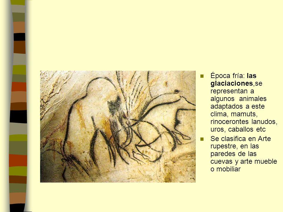 ARTE RUPESTRE Se encuentra en profundas cuevas: santuarios.
