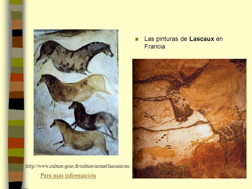 Las pinturas de Lascaux en Francia http://www.culture.gouv.fr/culture/arcnat/lascaux/en/ Para mas información