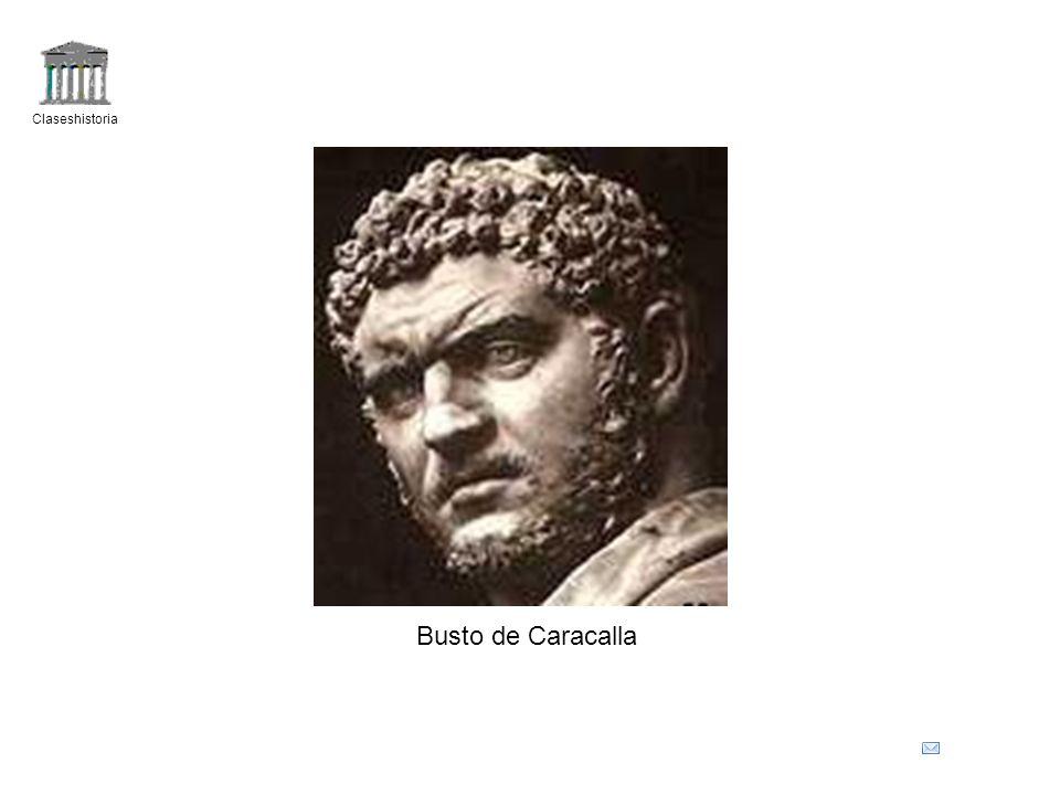 Claseshistoria Busto de Caracalla