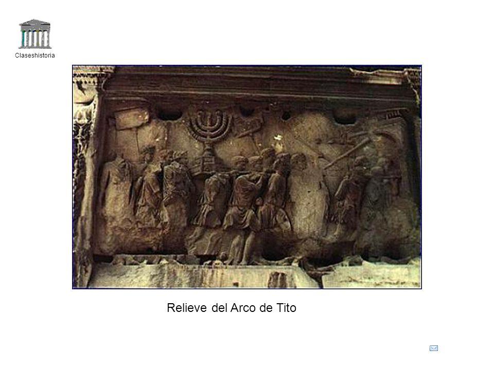 Claseshistoria Relieve del Arco de Tito