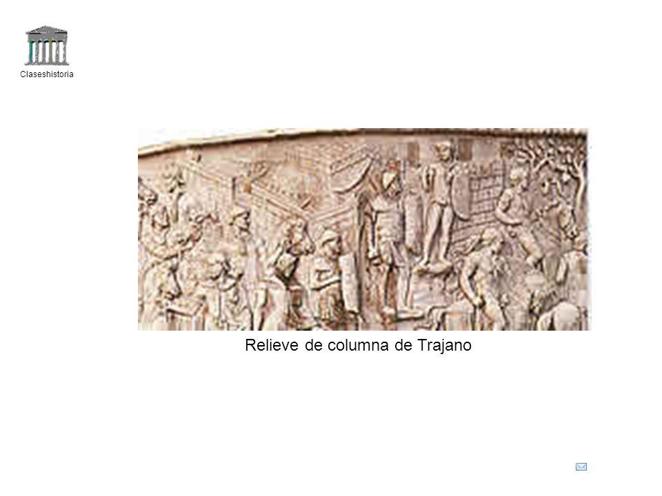 Claseshistoria Relieve de columna de Trajano