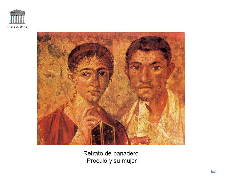 Claseshistoria Retrato de panadero Próculo y su mujer