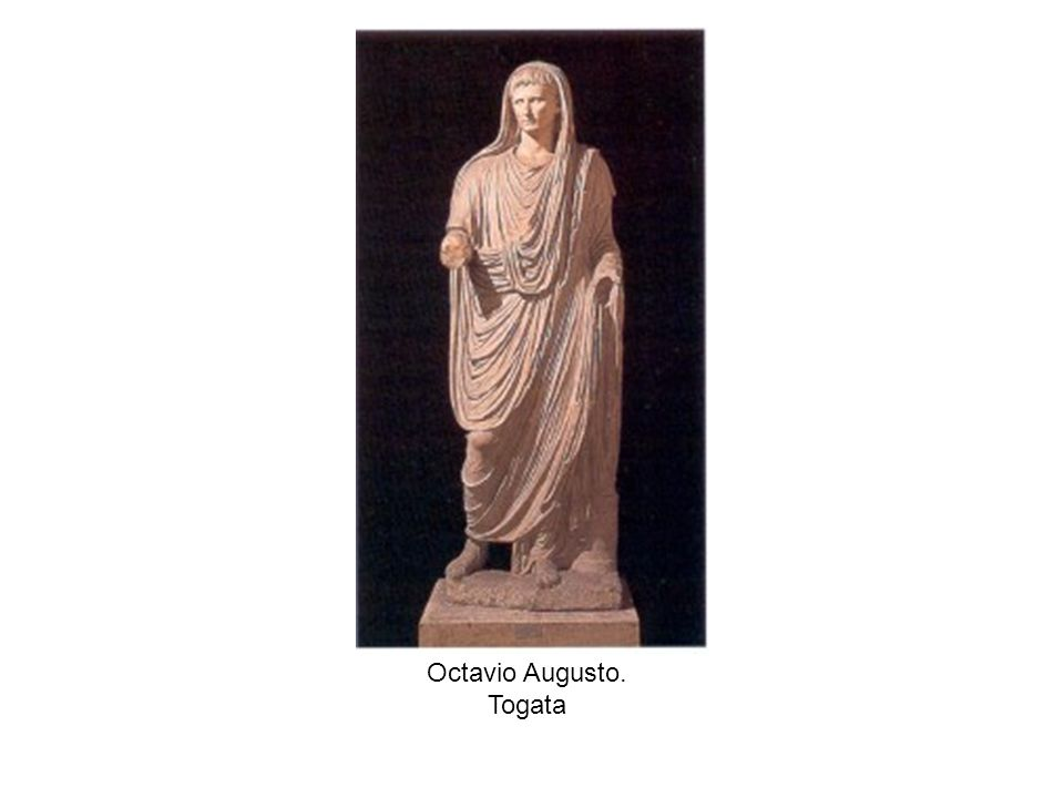 Octavio Augusto. Togata