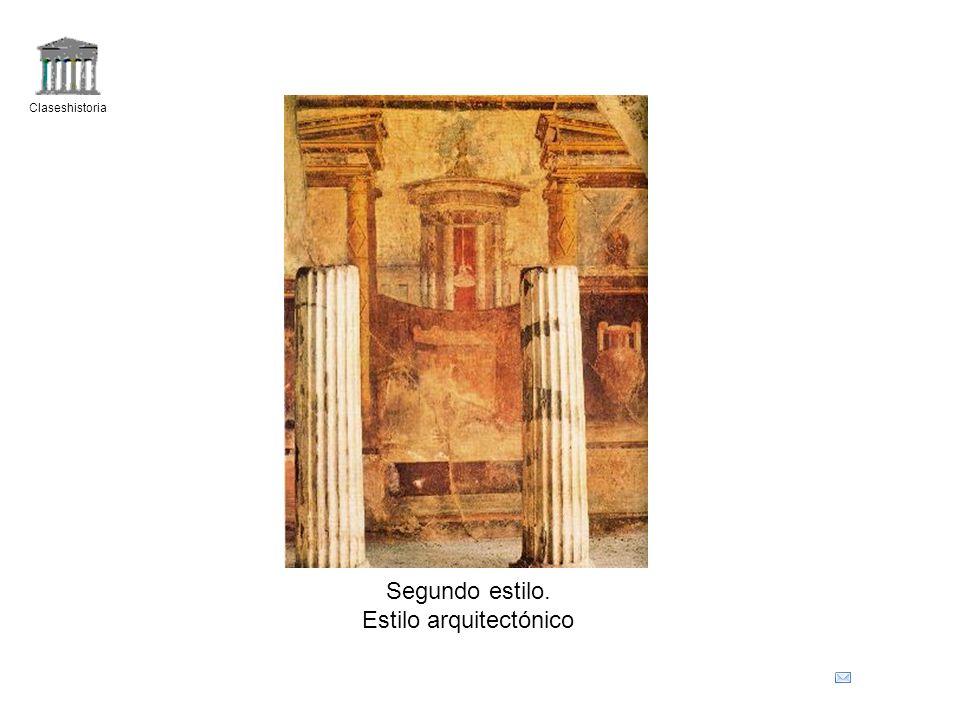 Claseshistoria Segundo estilo. Estilo arquitectónico