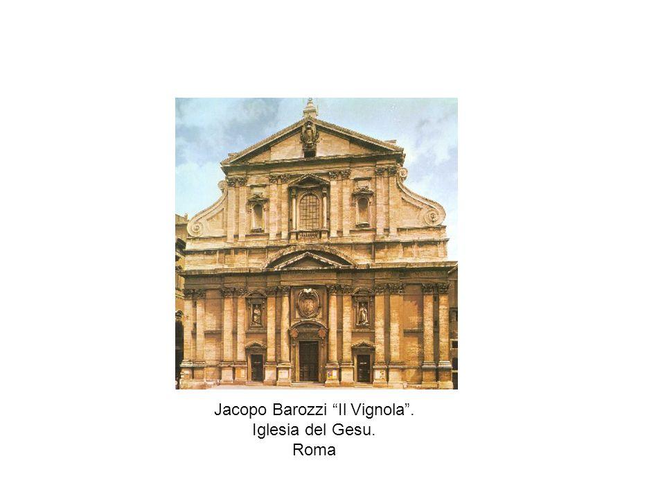 Jacopo Barozzi Il Vignola. Iglesia del Gesu. Roma