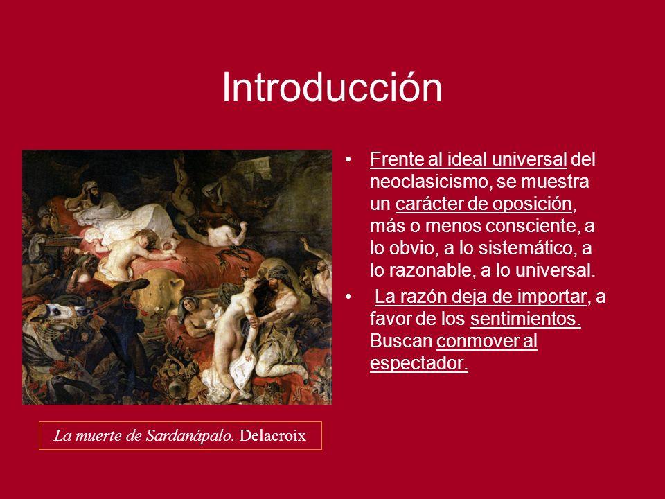Gustave Courbet Un entierro en Ornans.