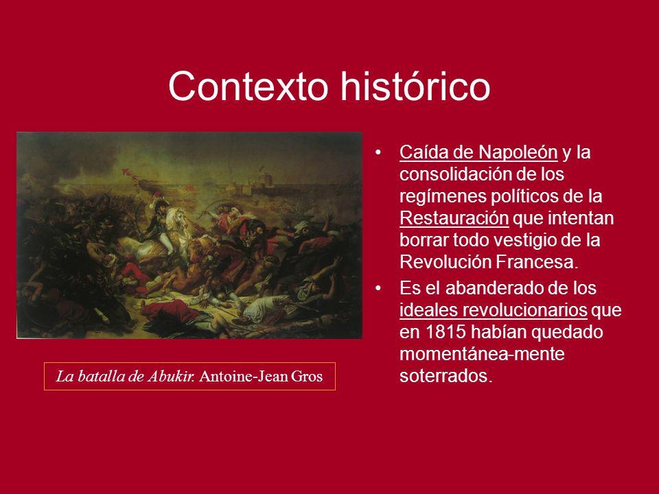 Contexto histórico Asentamiento de la burguesía.Liberalismo.