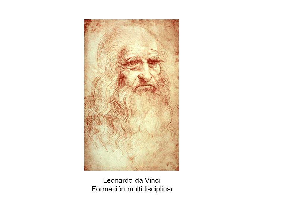 Leonardo da Vinci. Formación multidisciplinar