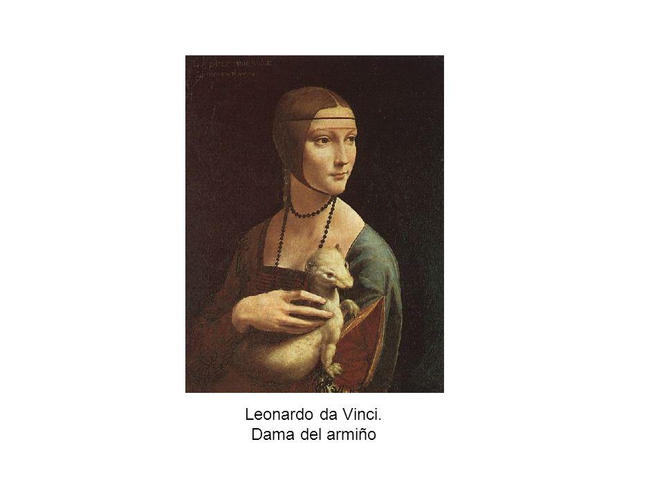 Leonardo da Vinci. Dama del armiño