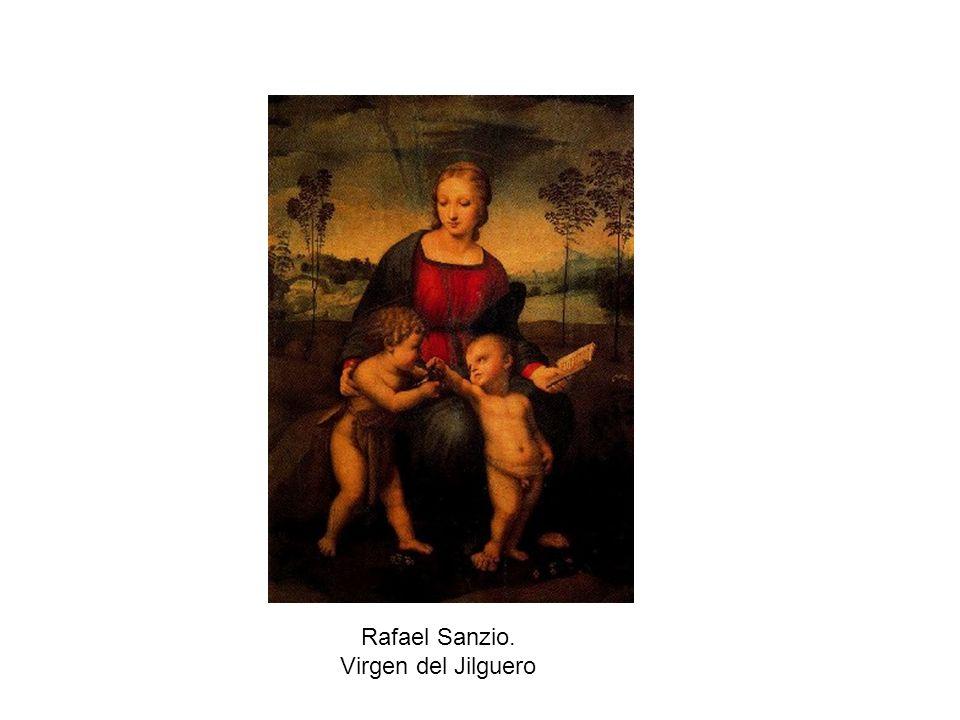 Rafael Sanzio. Virgen del Jilguero