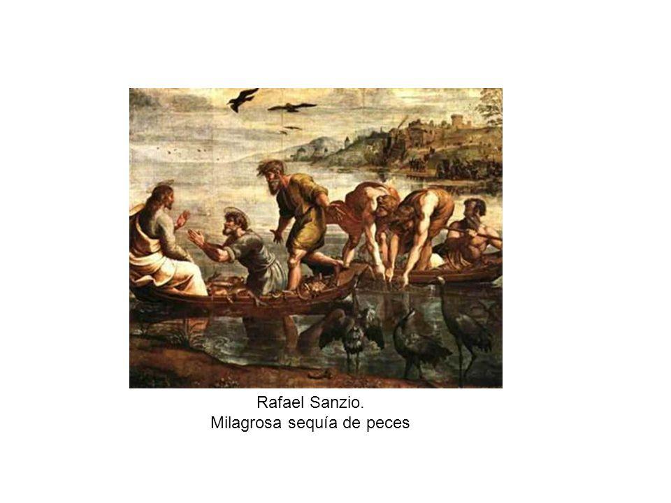 Rafael Sanzio. Milagrosa sequía de peces