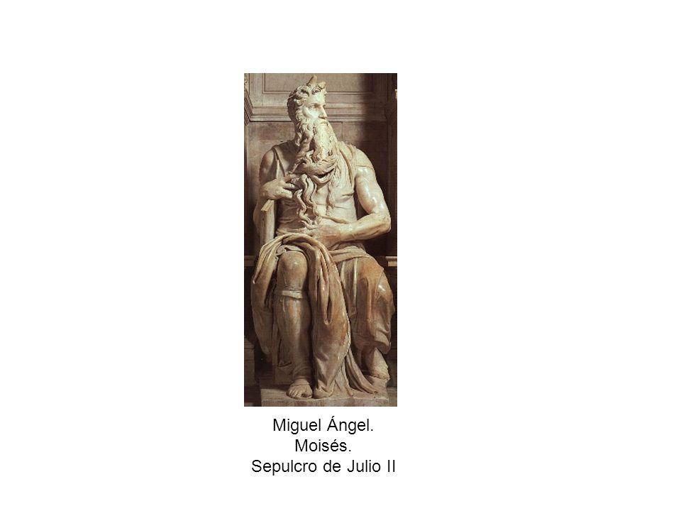 Miguel Ángel. Moisés. Sepulcro de Julio II