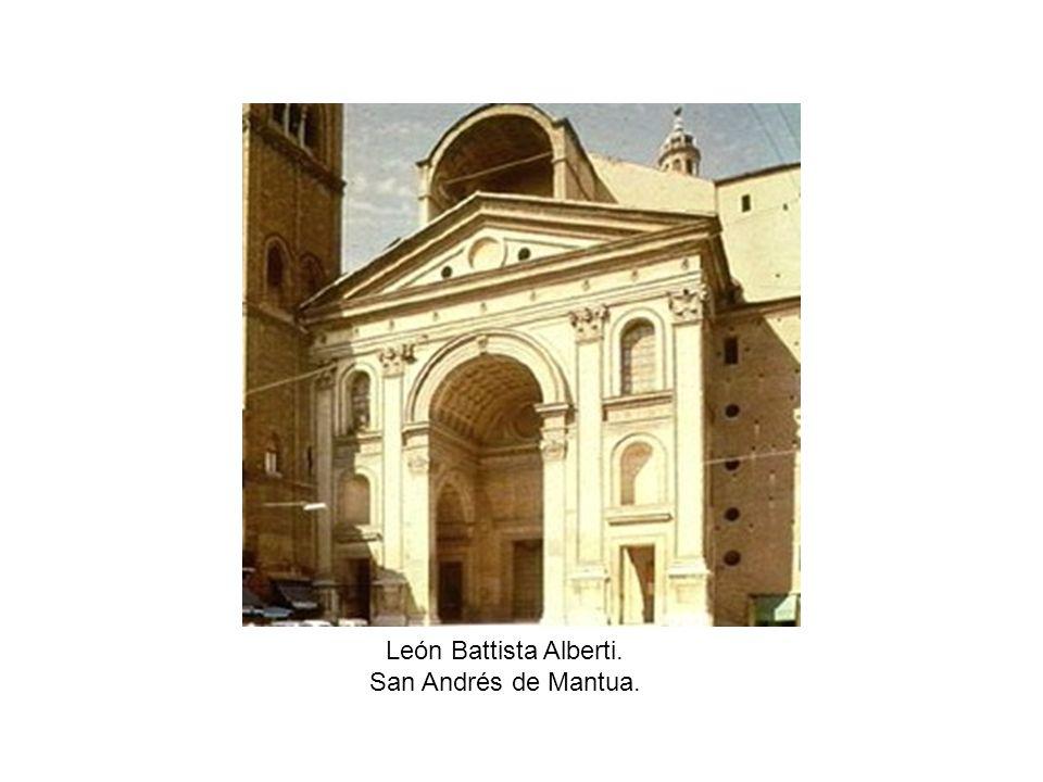 León Battista Alberti. San Andrés de Mantua.