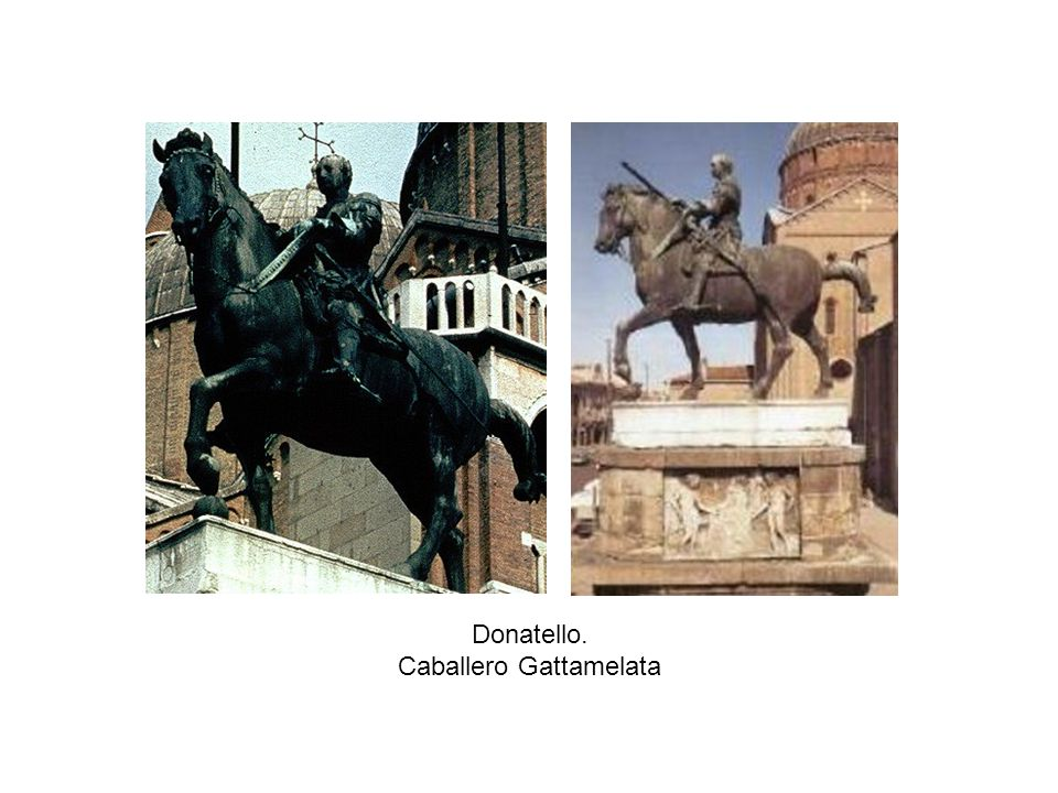 Donatello. Caballero Gattamelata