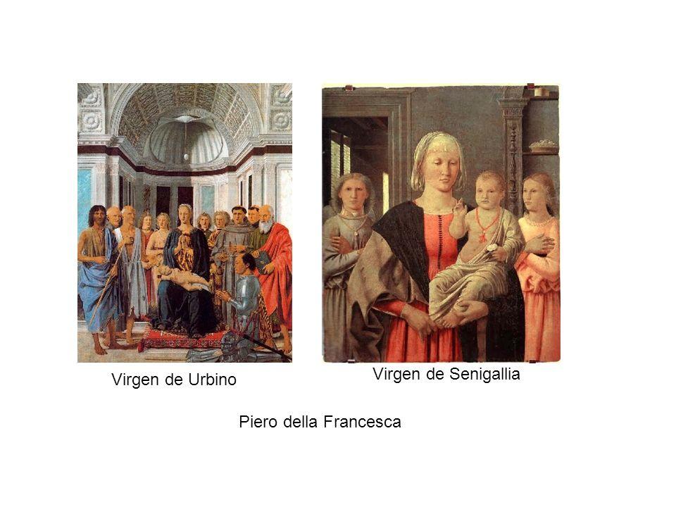 Virgen de Urbino Virgen de Senigallia Piero della Francesca