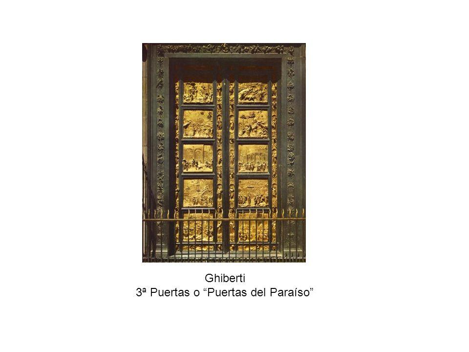 Ghiberti.Puertas del Paraíso.